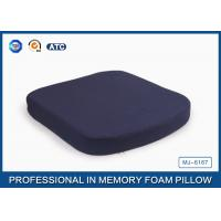 Quality Comfort Polyurethane Memory Foam Seat Cushion For Car / Office Chair for sale