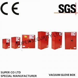 China 90 Gallon Free Standing Lockable Storage Cabinets , Flammable Storage Locker on sale