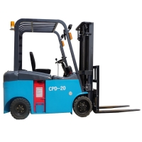 3000mm 5 Ton Battery Operated Forklift for sale