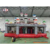 Best Advertising Inflatable Bouncer Mushroom Bouncing Combo Playground With CE Air Blower wholesale