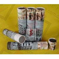 China Perfume Paper Recycling Containers / Custom Paper Tube Containers on sale