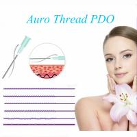 Quality PDO 3D Cog Thread L Blunt cannula face lift thread for V lifting for sale