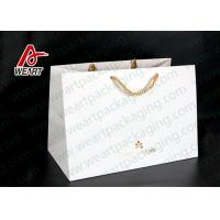 Best Hot Foil Stamping Christmas Gift Custom Printed Paper Bags Eco Friendly Feature wholesale