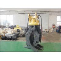 CE Approved Rotary Hydraulic Wood Grapple For Hitachi ZX230 ZX210 Excavator