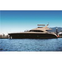 Buy cheap Fiberglass Sport Motor Yachts 70 Feet Engine Capacity Volvo 725hpx2 21.6m Length from wholesalers