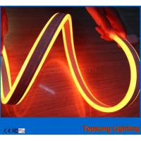 Buy cheap 12v orange double sided LED  neon flex building decoration led light from wholesalers