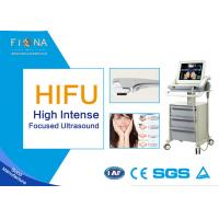 Quality Portable HIFU Ultrasound Machine , High Intensity Focused Ultrasound Machine Jowl Lifting for sale