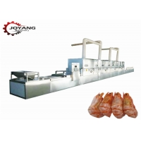 China Shrimp Seafood Baking 50kw 50KG/H Microwave Drying Machine for sale