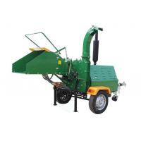 Quality 2'' Ball Hitch Diesel Powered Wood Chipper , Diesel Wood Chipper Shredder for sale