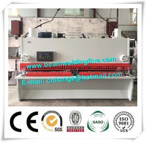 Quality NC Hydraulic Shearing Machine , Guillotine Type Steel Plate Shearing Machine for sale