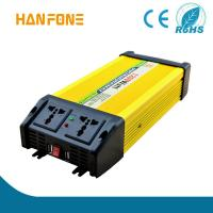 Quality HANFONG Off Grid Solar Inverter Hot Sale Power Inverter 1200W Hot sale 12v-230v DC to AC home use portable best for sale