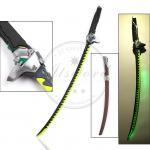 "Quality 47.2"" Video Game Replica Swords Overwatch Genji Katana Sword With Led Light for sale"