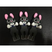 China 2017 DIY Cute 3D Zootopia Judy Soft PVC Cell Phone Charms , Stick To Smart Phone Case, Best Phone Gift Decoration on sale