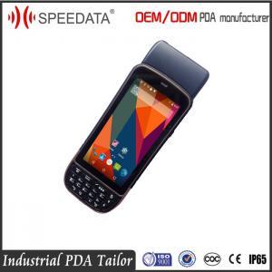 Quality Speedata PDA Biometric Fingerprint Scanner Built In Printer Water Proof for sale