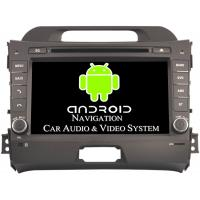 Quality 2011 - 2015 Kia Sportage Video Android Car Stereo Head Unit Max External Memory 3G for sale