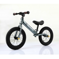 Quality Popular No Pedal 14inch  Aluminum  Kids Balance Bike Baby Push Bike With Inflatable Tires&Tube for sale