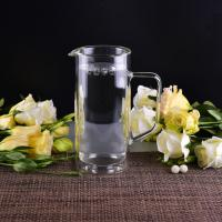 Best 990Ml Borosilicate Double Wall Glass Tableware Clear Glass Jug For Water wholesale