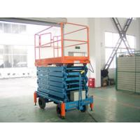 Quality 8m Hydraulic Mobile Platform Table , Portable Aerial Lifting Platform with Extension for sale