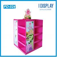 Best Simple designed wholesale corrugated cardboard pallet display pop display wholesale
