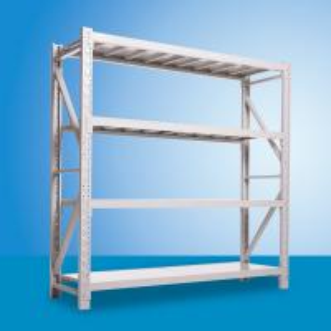 China 4 Layer Stainless Light Duty  Shelf  /  Warehouse Storage Racks Powder Coated on sale