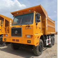 Quality Shacman 70T Left Hand Driving Crawler Dump Truck 6x4  Euro 3 For Mining for sale