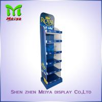 Best Bathroom Products Custom Cardboard Standee Advertising , Recycling Foldable Display Stand wholesale