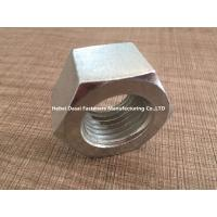 Quality Hot Galvanizing Surface M5 Hex Nut / SS Hex Nut For Home Decorating for sale