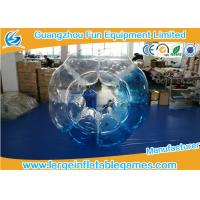Quality Customized Heat Sealed PVC Inflatable Bubble Ball With Logo Printing for sale