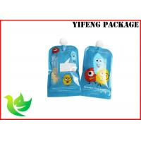 Quality lamimated material leak proof custom plastic  spout pouch with drink  packaging for sale