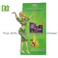 Quality Special Shape Cardboard Stand Up Display For Children With Die Cut for sale