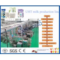Quality Stainless Steel SUS 304 2000LPH SOY YOGHURT AND ICE CREAM PRODUCTION LINE for sale
