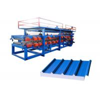 Buy cheap Automatic Sandwich Panel Forming Machine Total Weight 16 Tons Shaft Number 24 from wholesalers