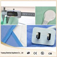 Quality single wool electric heating blanket for sale