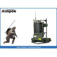 Military Backpack Digital Video Transmitter 5~8W Microwave Transmission Equipment for sale