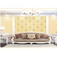 Quality Contemporary Damask Deep Embossed Wallpaper Waterproof For Interior Room for sale