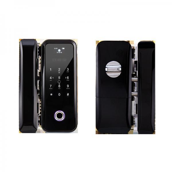 Buy Double / Single Open Glass Door Lock APP / Password / Fingerprint Unlock Ways Available at wholesale prices