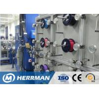 Quality 0.4~1N Pay - Off Tension RIBBON Fiber Optic Cable Production Line 7m Length for sale
