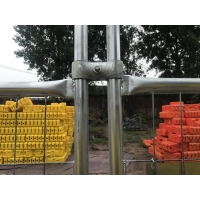 Quality Temporary Fencing Panels OD48mm Height 2mx3m Width for sale