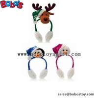 Best Fashion Design Plush Animal Xmas Ear Muff Be Christmas Decorate wholesale