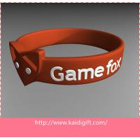 Eco-friendly Silicone Wrist Bracelets  Flexible For Children