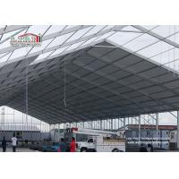 Quality 50m Width Outdoor Event Tents With Glass / ABS Walls For 8000-10000 People for sale
