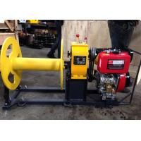 Quality Cable Pulling Winch / Diesel Cable Winch For Cable Pulling During Tower Erection for sale