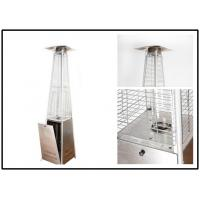 Quality Pyramid Outdoor Standing Propane Heater , Patio Floor Heater CE Certification for sale