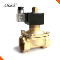 China 2W-160-15B Water Filter Solenoid Valve Stainless Steel Brass Pilot Operating on sale