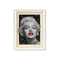 Quality Marilyn Monroe Portrait And Flowers & Birds 3D Lenticular Image 30 x 40cm Frame Art Prints for sale