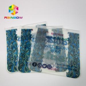 Best Transparent PVC Bag Bikini Bag ,EVA Plastic Swimwear Bag With Zipper wholesale