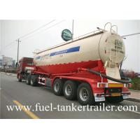China Tri - axle 30-60Ton  Bulk Cement Trailer Truck Powder Tank Semi Trailer on sale