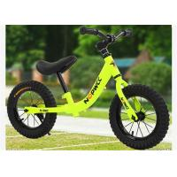 "Quality 12"" High Carbon Steel Children Balance Bike Toys On Bike No Pedals With Off-road Tires for sale"
