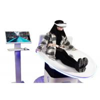 Quality Virtual Reality Motion simulator / 9D VR Surf Slide with Thrilling Experience for sale