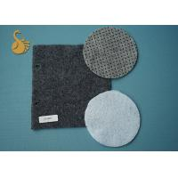 China Eco Non Woven Needle Punched Felt Polyester Fabric Rolls With Pvc Dots on sale